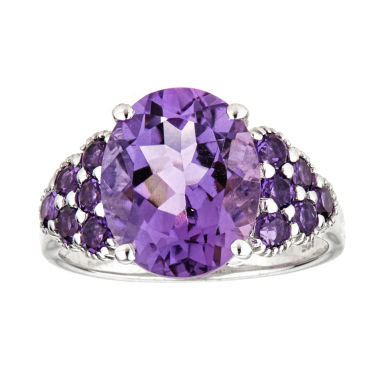 jcpenney.com | LIMITED QUANTITIES  Amethyst Sterling Silver Ring