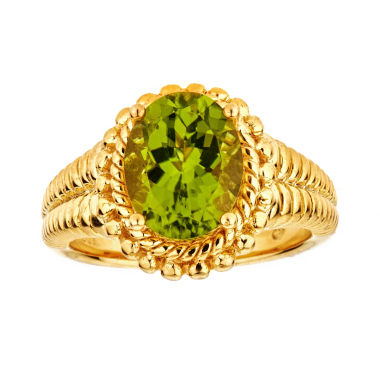 jcpenney.com | LIMITED QUANTITIES Peridot Sterling Silver Ring