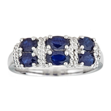 jcpenney.com | LIMITED QUANTITIES Blue Sapphire Sterling Silver Ring