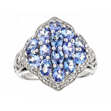 jcpenney.com | LIMITED QUANTITIES Genuine Tanzanite Sterling Silver Ring