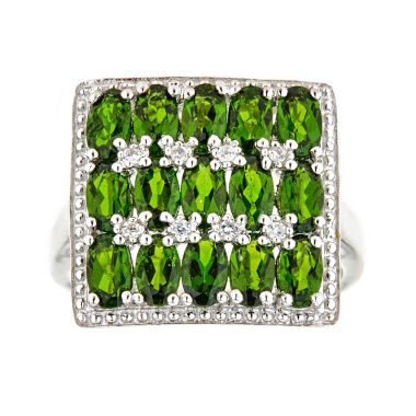 jcpenney.com | LIMITED QUANTITIES Chrome Diopside Sterling Silver Ring