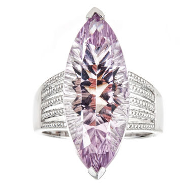 jcpenney.com | LIMITED QUANTITIES Pink Amethyst Sterling Silver Ring