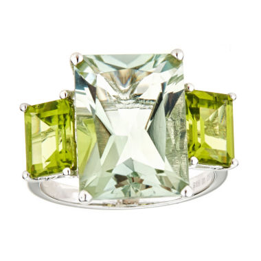 jcpenney.com | LIMITED QUANTITIES Parasiolite and Peridot Sterling Silver Ring
