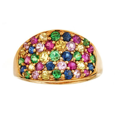jcpenney.com | LIMITED QUANTITIES  Lead-Glass Filled Ruby 10K Yellow Gold Ring
