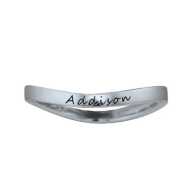 jcpenney.com | Personalized Curved Stackable Ring