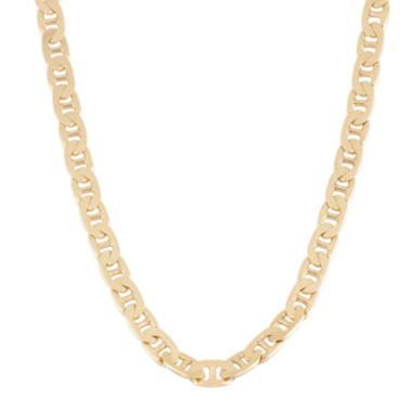 "jcpenney.com | Mens 18K Yellow Gold Over Silver 20"" Mariner Chain Necklace"