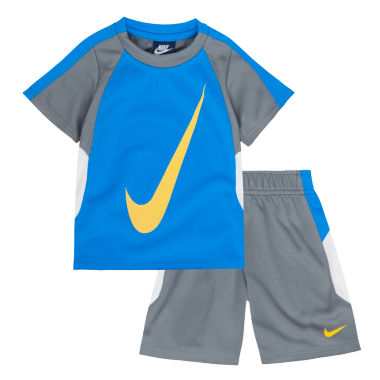 jcpenney.com | Nike® 2-pc. Short-Sleeve Tee and Shorts Set - Toddler Boys 2t-4t