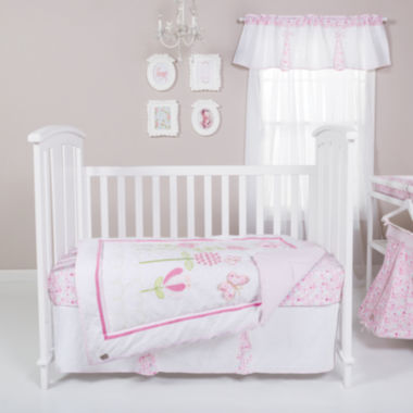 jcpenney.com | Trend Lab® Floral Fun 6-pc. Crib Bedding Set