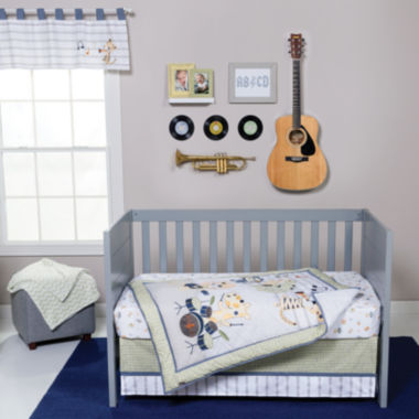 jcpenney.com | Trend Lab® Safari Rock Band 6-pc. Crib Bedding Set