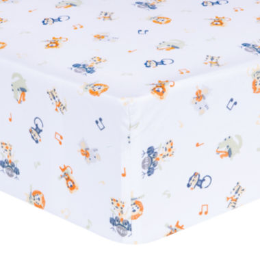 jcpenney.com | Trend Lab® Safari Rock Band Fitted Crib Sheet