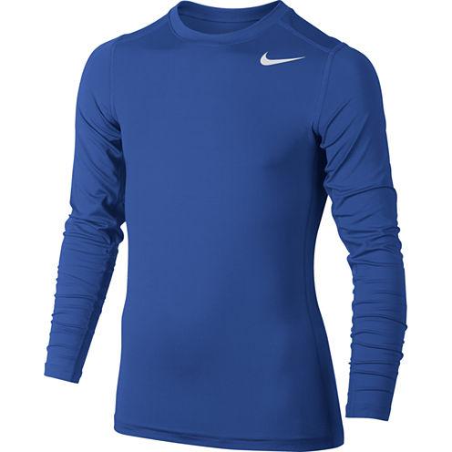 Nike® Long-Sleeve Dri-FIT Baselayer Top - Boys 8-20