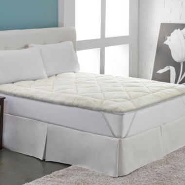 jcpenney.com | Perfect Fit Cool Wool Reversible Mattress Pad