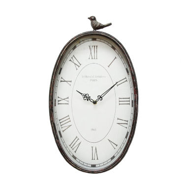 jcpenney.com | Stratton Home Décor Antique Oval Clock