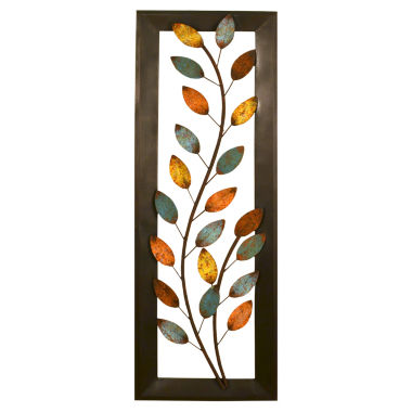 jcpenney.com | Stratton Home Décor Winding Leaves Panel Wall Décor
