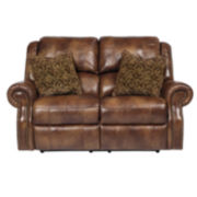 Signature Design by Ashley® Walworth Reclining Loveseat