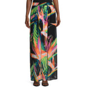 Worthington® Pleated Chiffon Maxi Skirt