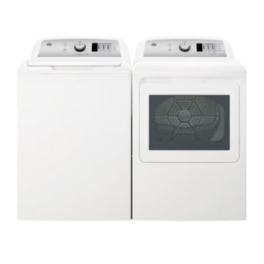 jcpenney.com | GE® Top Load 2-pc. Electric Washer & Dryer Package- White