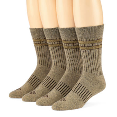 jcpenney.com | Columbia® 4-pk. Mens Crew Socks