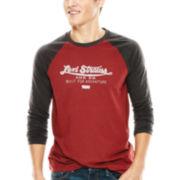 Levi's® Raglan-Sleeve Logo Tee