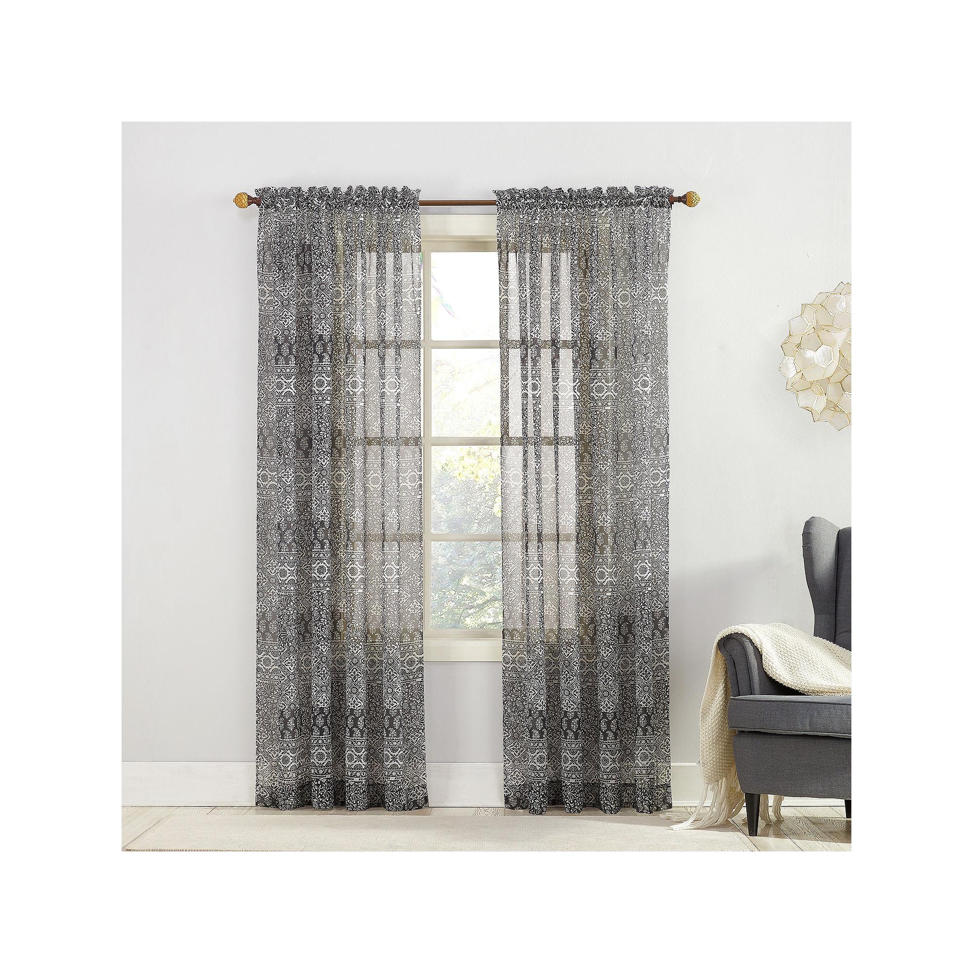 Xander Rod-Pocket Curtain Panel