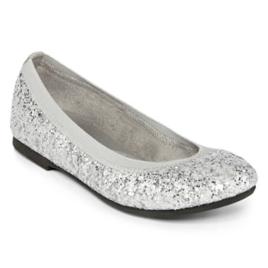 jcpenney.com | Total Girl® Sibley Girls Sparkle Flats - Little Kids