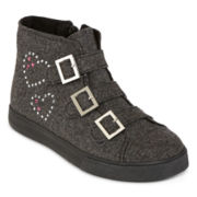 Total Girl® Helen Girls High Tops - Little Kids/Big Kids