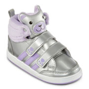 adidas® Bear Mid  Girls Basketball Shoes - Toddler