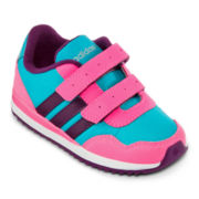 adidas® Runneo V Jogger Girls Athletic Shoes - Toddler