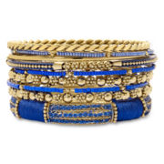 Mixit™ 9-pc. Blue Bangle Set