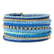 Mixit™ Blue Coil Bracelet