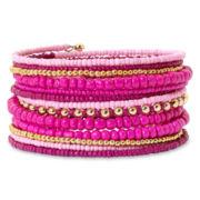 Mixit™ Pink Coil Bracelet