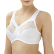 Glamorise® Magic Lift® Full-Figure Cotton & Lace Wireless Bra - 1031