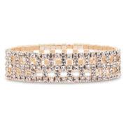 Vieste® Crystal Box Motif Bracelet