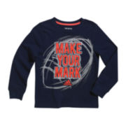 adidas® Long-Sleeve Graphic Tee - Boys 4-7x