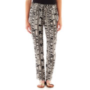 by&by Aztec Print Soft Pants