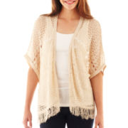 Take Out Fringe Poncho