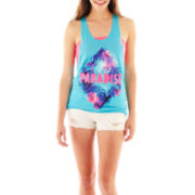 Arizona Print Tank Top, Bandeau Top or Cut-Off Shorts