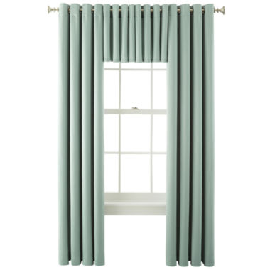 jcpenney.com | Liz Claiborne® Kathryn Grommet-Top Window Treatments