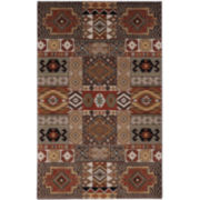 American Rug Craftsmen Southwest Collage Rectangular Rug