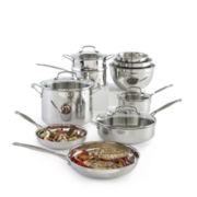 Cuisinart® 11-pc. Stainless Steel Cookware Set + BONUS