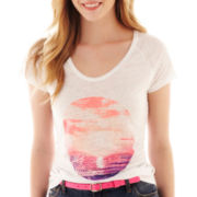 jcp™ Short-Sleeve Fashion Tee