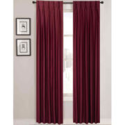 Supreme Palace Antique Satin Lined Pinch-Pleat Curtain Panels