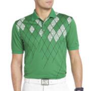 IZOD® Golf Argyle-Print Polo