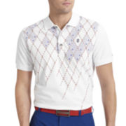 IZOD® Golf Argyle-Print Polo