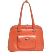 McKlein Avon Leather Briefcase