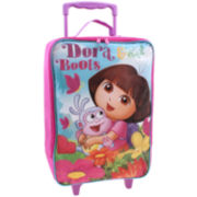 Nickelodeon Dora The Explorer Kids Carry-On Suitcase