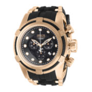 Invicta® Reserve Bolt Zeus Mens Rose-Tone Stainless Steel Chronograph Watch 12667