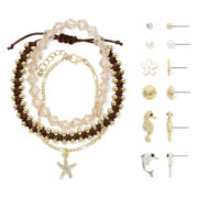 Carole Nautical 9-pc. Two-Tone Jewelry Set