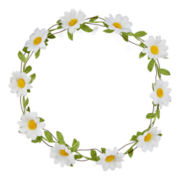 Carole Daisy Hair Crown