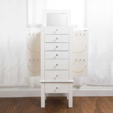 jcpenney.com | Hives and Honey Hannah Cream Jewelry Armoire